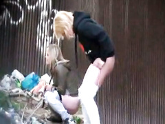 Compilation of Ukrainian girls peeing in public