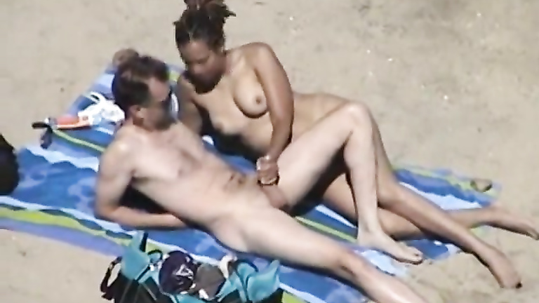 Are not Nude hanjob beach cumshot very