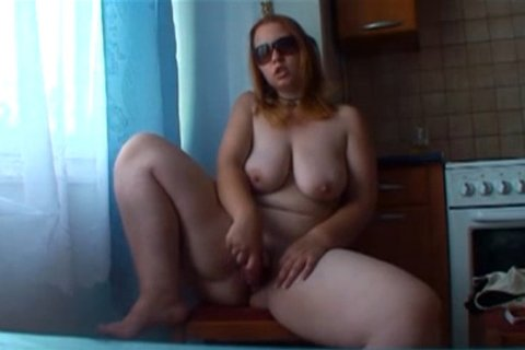 Masturbating bbw cock sucks