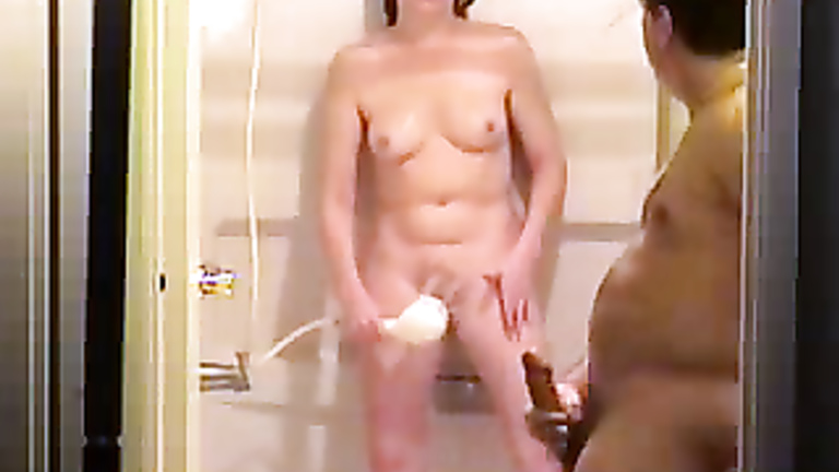 Wife masturbate while husband watches
