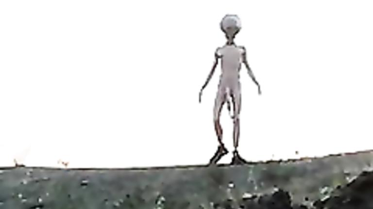 Big cock alien bangs a hottie in weird video