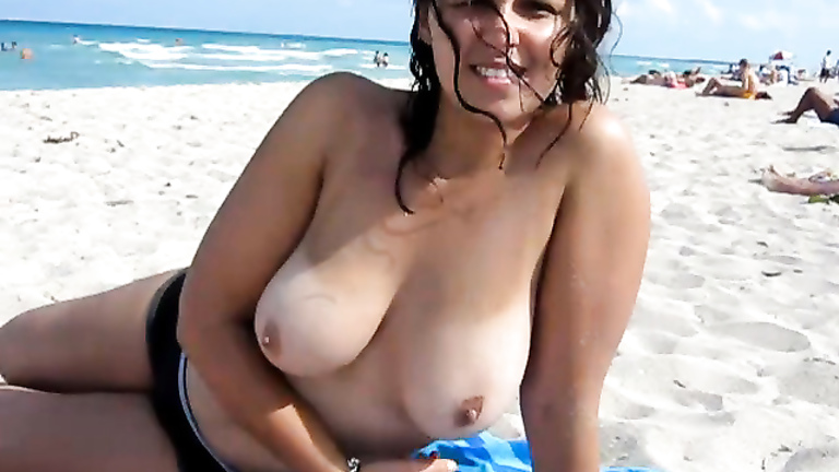 Hien camera videos pussy breasts beach sexy