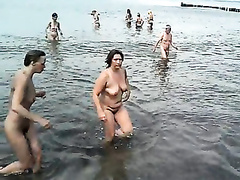 My trophy from the nudist beach of Crimea