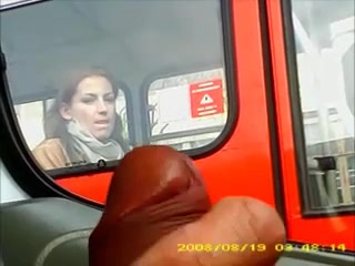 Girl Masturbates On Bus