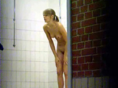 Hidden cam video of teens showering