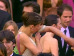 Sophie Marceau nipple slip at award show