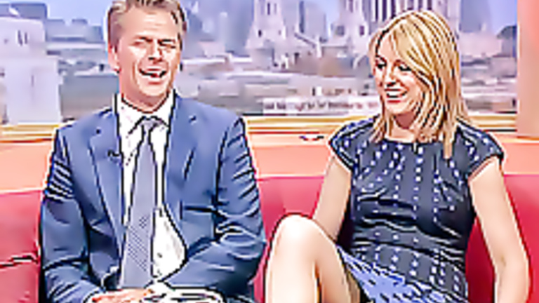 Still that? Upskirt from tv talk shows consider