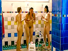 Sarah Silverman naked in shower video clip