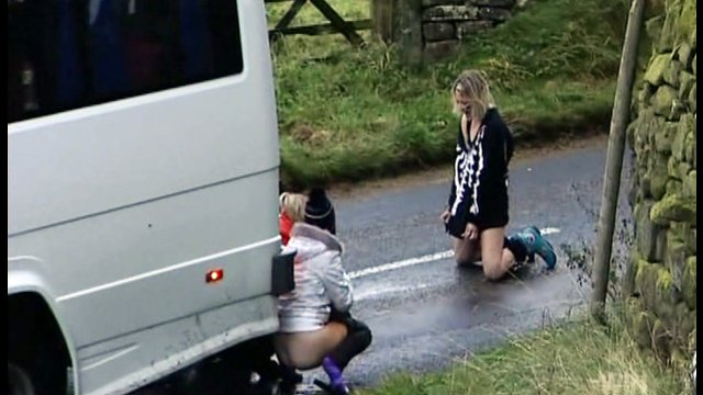 Whores worship girl piss on street movie