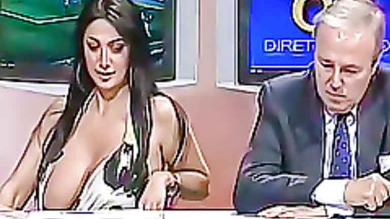 Love this italian tv boob very very