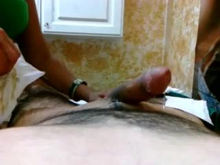 Captivating babe causes a large boner
