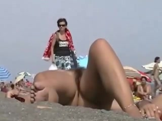 Nicest pussies of the nude beach