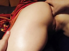 Horny girl-next-door allows me to finger her