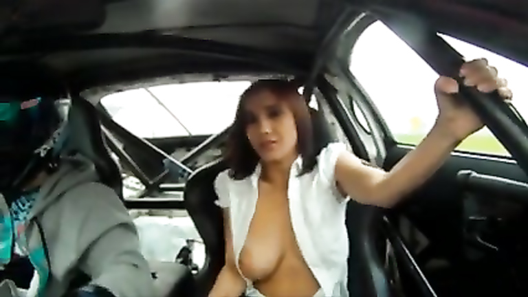 Women tits pop out