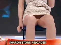 Recreation of Sharon Stone's famous move