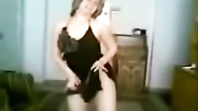 Delicious dish enjoys dancing in a revealing short dress