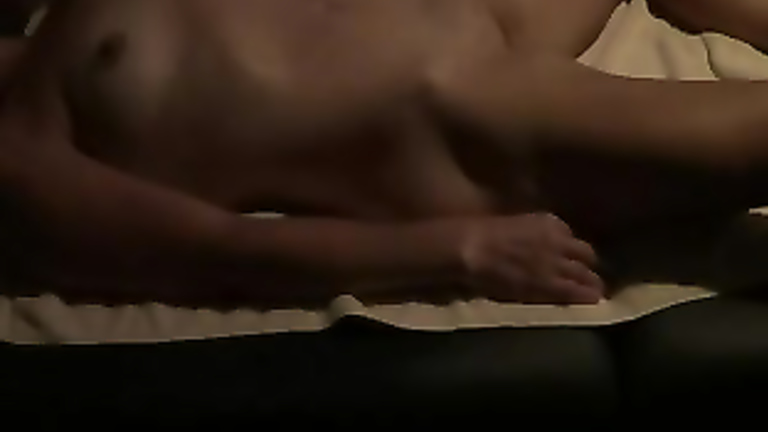 My wife has her tits massaged and pubis fingered