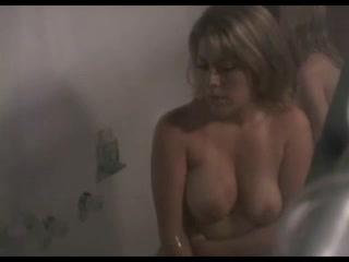 Fascinating brunettes filmed under the shower