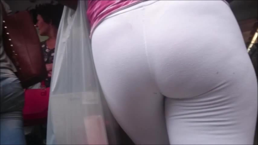 Her booty looked perfect and I had to film it