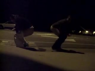 Let's take a piss on the sidewalk together!