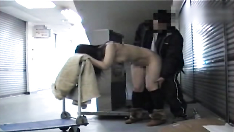 Kinky Asian flasher exposing her body everywhere around the city