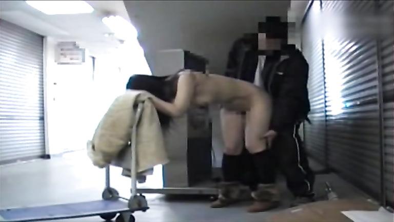 Kinky Asian flasher exposing her body everywhere around the city