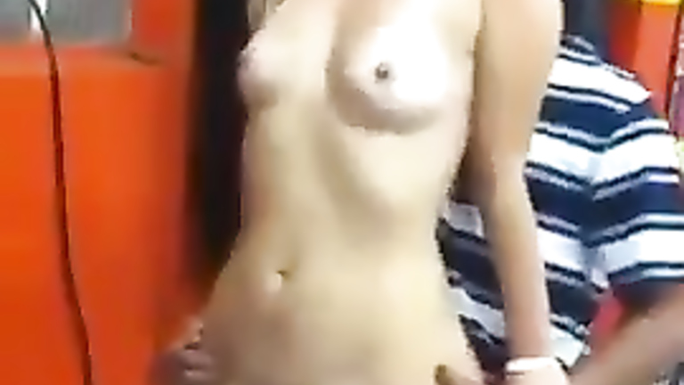Two horny cocks for the curvy Brazilian prostitute
