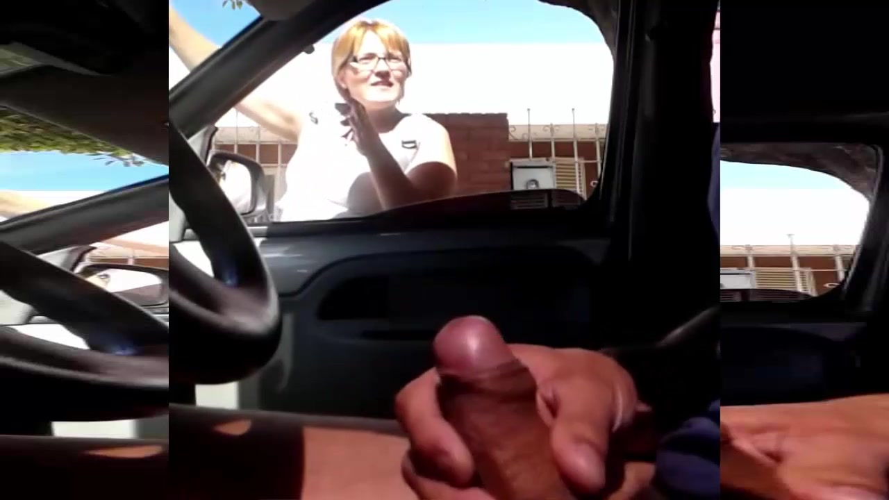 Mature lady explains the directions while I jerk it off