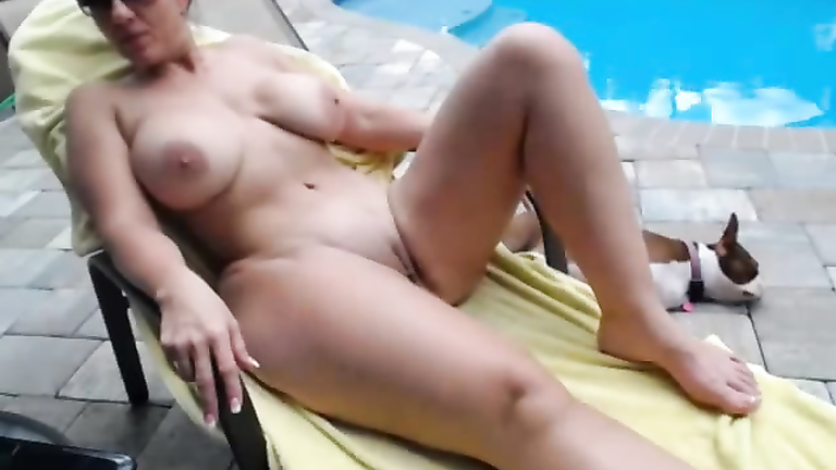 image Horny wife fucked and splattered in parking complex