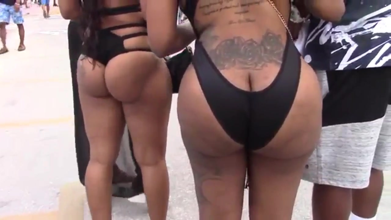 sexy black women with big asses celebrate the memorial weekend in