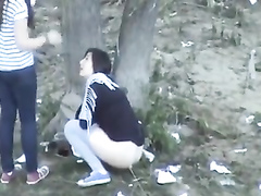 Outdoor voyeur pissing scenes
