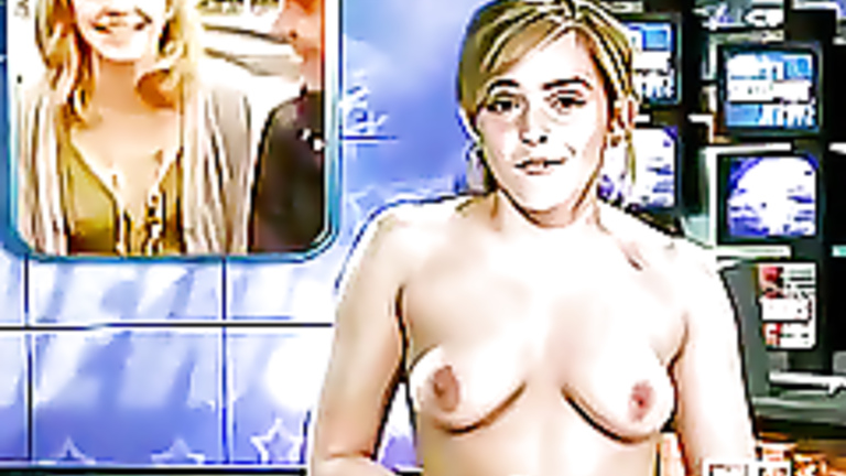 Emma Watson Fake Naked News Reading