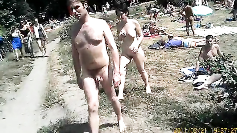 Real nudist camp