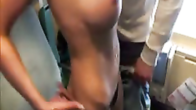 sex in the train car