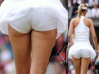 girls upskirts Tennis