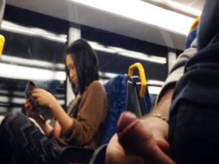 Pussy grinders Asian masturbation bus cock she nice