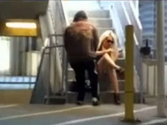Exciting compilation of cumming on pretty women in public