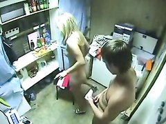 Amateur lovers caught on tape