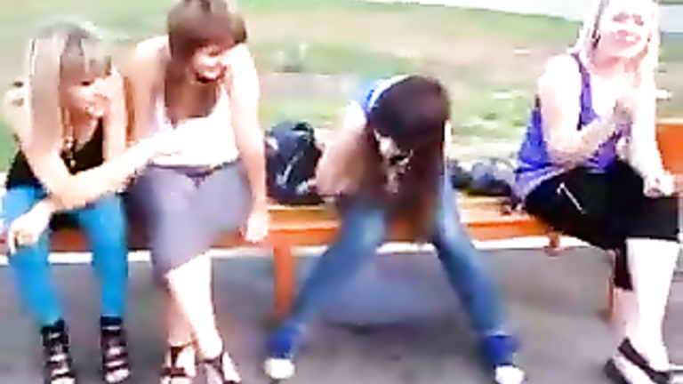 Park 2 Peeing On Girls Bench