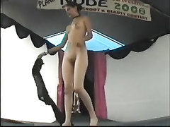 Nudist club with lots of amazing naked ladies