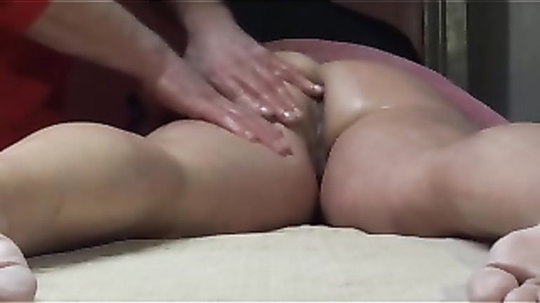 Real wife massage fuck