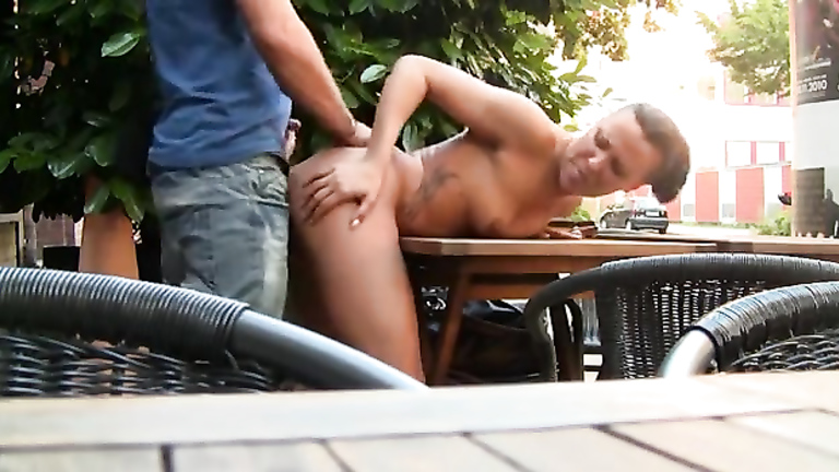 Public outdoor masturbation and sex with a slut