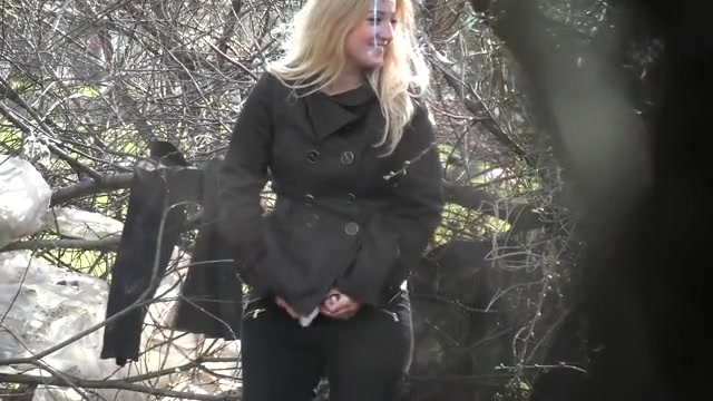Jonny....L0L...is girls. caught pissing in woods pic babe!