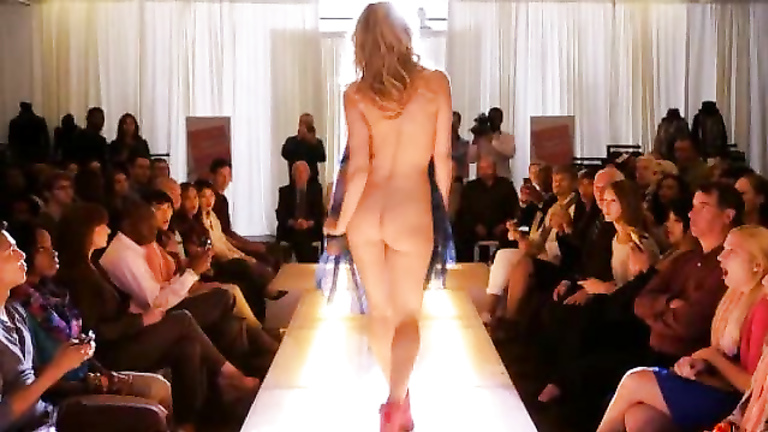 Nude fashion models naked ass