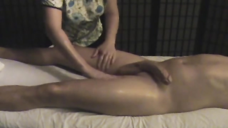 Handjob tantric massage video