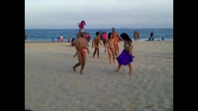 beach soccer Nude
