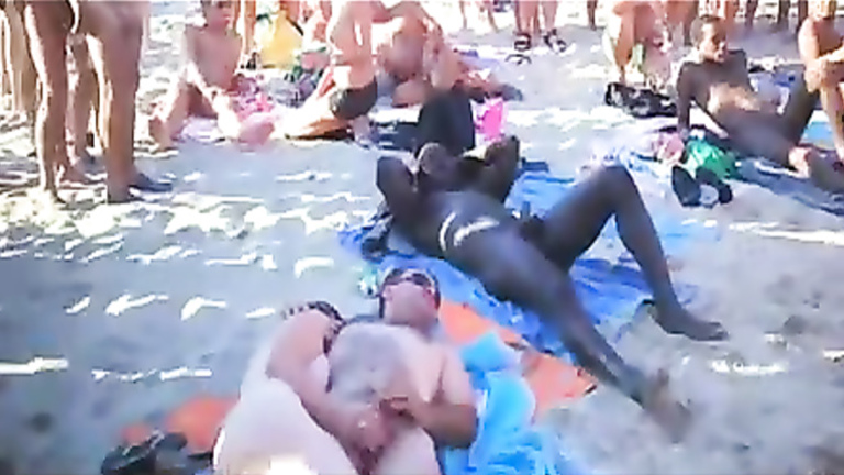 Cap d agde beach sex videos