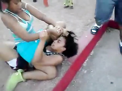 Fighting black girls like hair pulling to