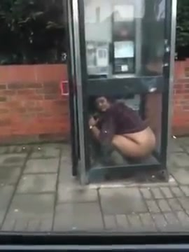 Guy Pissing On Contents Box