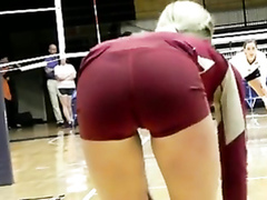 Volleyball cameltoe and amazingly hot asses